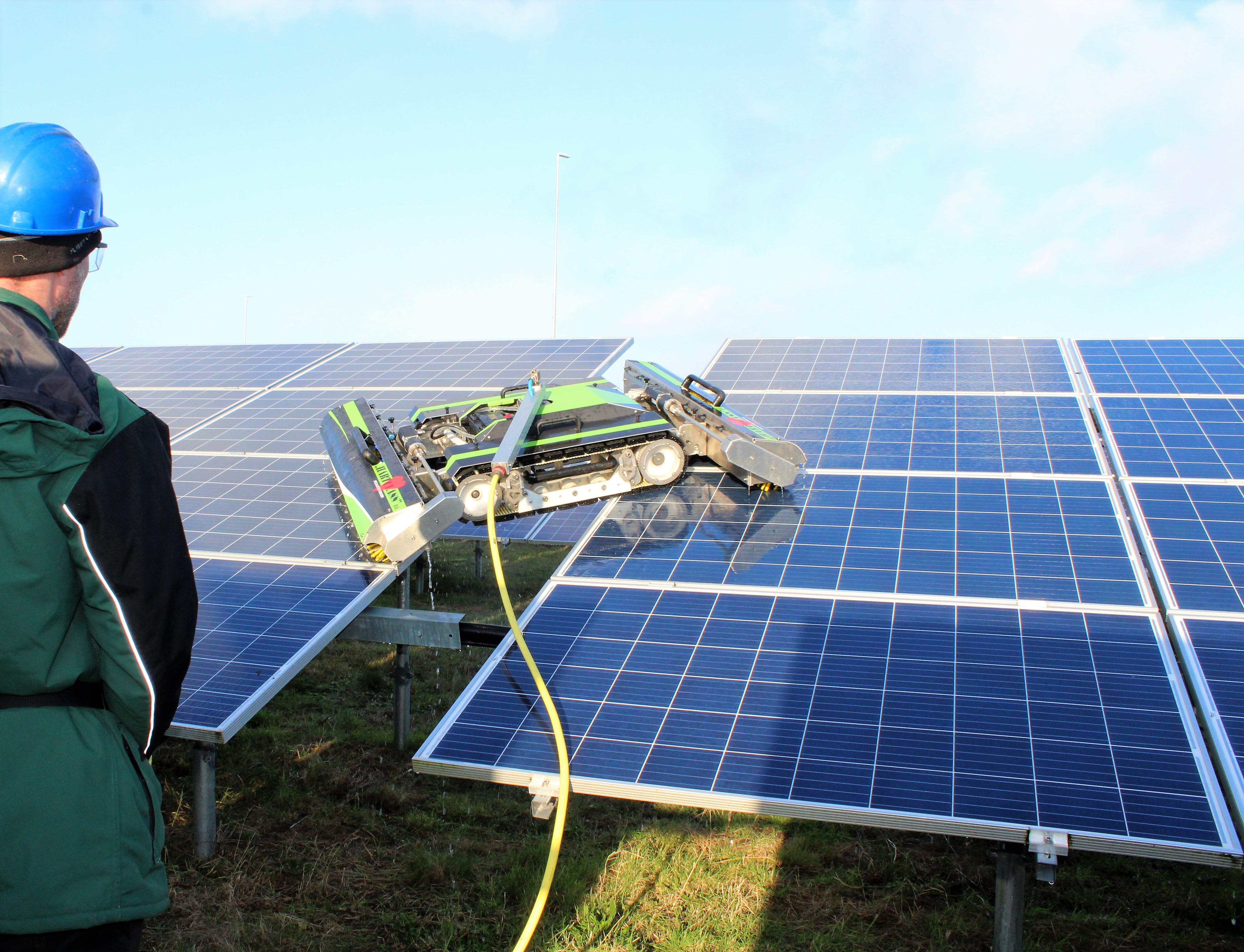 wél groene energie, géén groene panelen